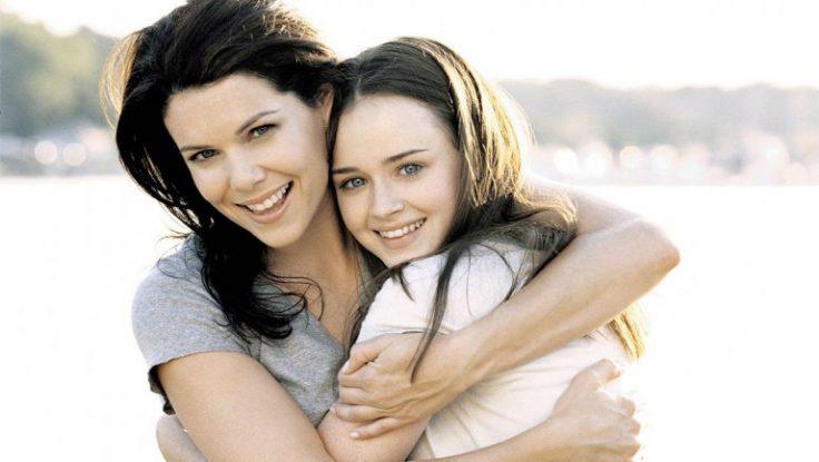 Beste Freundinnen: Mutter und Tochter Gilmore; Foto: Warner Bros. TV