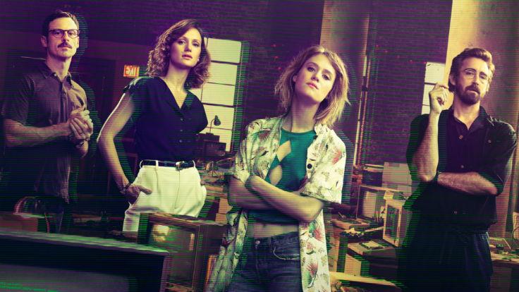"""""""Halt and Catch Fire"""" bekam von AMC noch eine Chance. Und nutzt sie. Foto: AMC"""