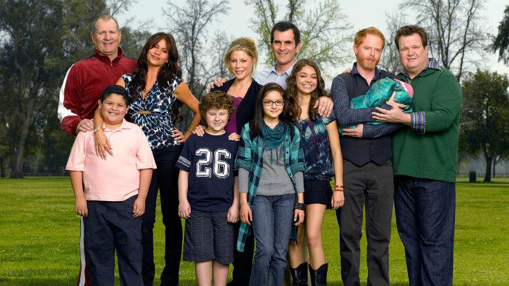 Eine moderne Familie. Foto: ABC