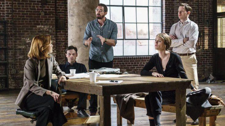 Die Gang, wiedervereint - aber für wie lange? Foto: Tina Rowden/AMC